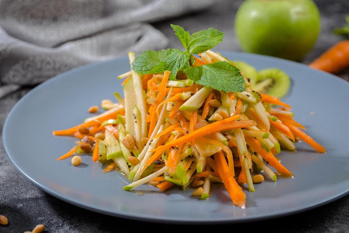 Рецепт диетических салатов для похудения из моркови
